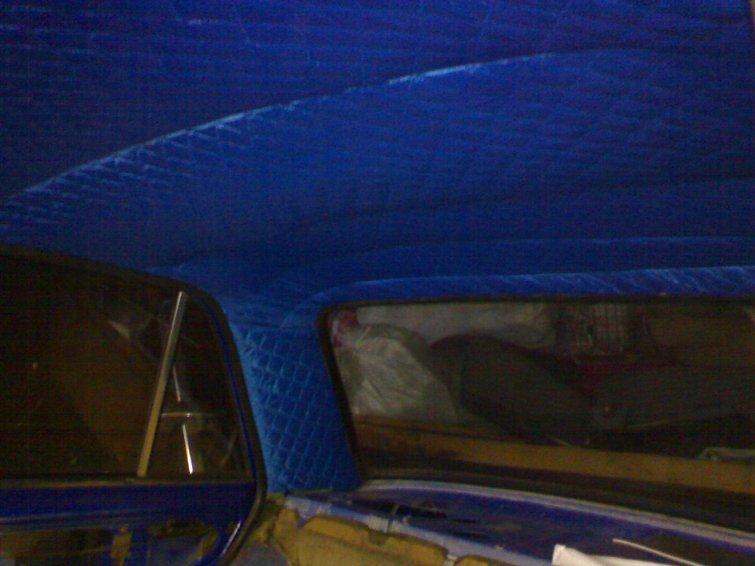 Замена обшивки потолка ВАЗ классики О Ладе 95