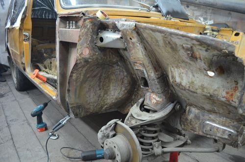 Ваз 2101 кузовной ремонт своими руками
