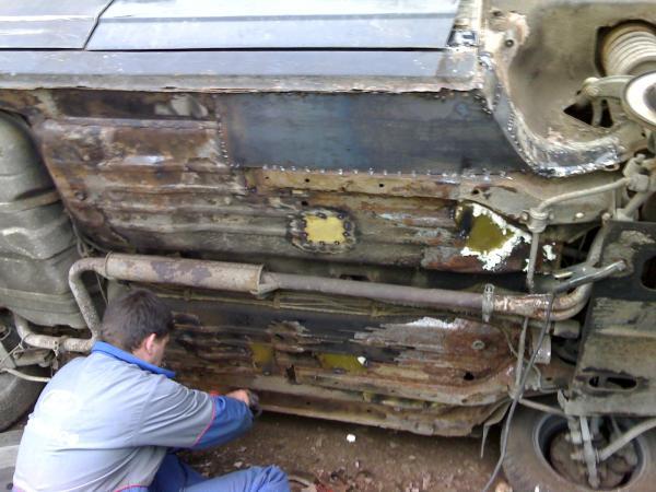 Днище ваз 2110 ремонт