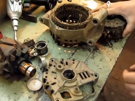 Ремонт генератора форд мондео 3 своими руками видео 118